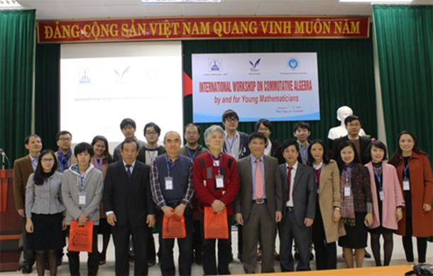 Hội thảo chuyên đề quốc tế về Đại số giao hoán tại Trường Đại học Sư phạm- Đại học Thái Nguyên